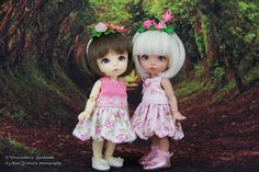 Pukifee / Lati Y balloon dresses & butterfly headbands