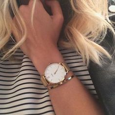 I recieve my lovely watch  #cluse #clusewatches #gold
