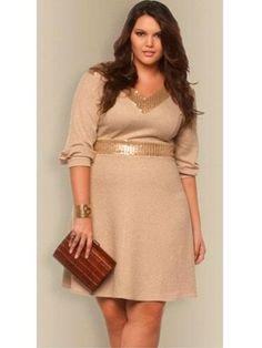 Vestido plus size Lúcia por R$ 367,20 / Foto divulgação