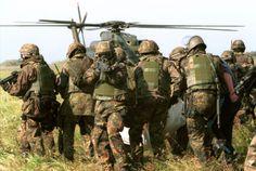 older pic of KSK-troopers (from 2000) KSK = Kommando Spezialkräfte SF of the German Army