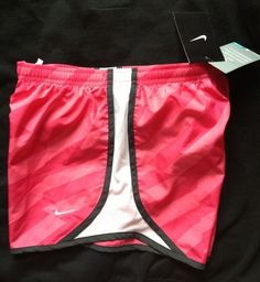 Nike Dri-Fit Running Shorts 3  Girls Large Pink NWT New Athletics Training Track #nike #running