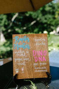 Signature drink sign at Crossed Keys Estate
