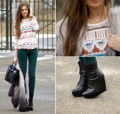 A take on prints (by Nika H) http://lookbook.nu/look/3015667-A-take-on-prints