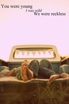 Cute.(:  I would love to actually lay in the bed of a pickup and gaze at the stars with my guy. The pictures always make it look so cute! Haha.