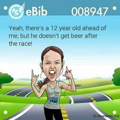Runner's humor