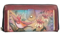 Anushka Hand Painted Wallet