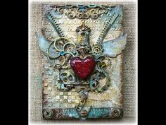 Steampunk Style Mixed Media Canvas – Explore the World of Steampunk