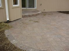 cambridge cobble paver patio topekalandscape patios drives