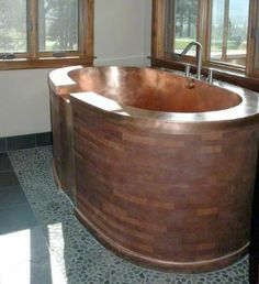 PLUMBING.017 DIAMOND SPAS: Copper Oasis Bath