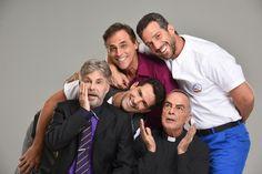 """.: Com Edwin Luisi e Oscar Magrini, """"5 Homens e Um Segredo"""" estreia"""