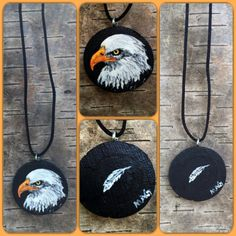 American Eagle Bird Men Women Pendant Jewelry by TheBackyardBear Eagle Bird, Pendant Jewelry, Clock, American, Trending Outfits, Store, Unique Jewelry, Handmade Gifts, Etsy