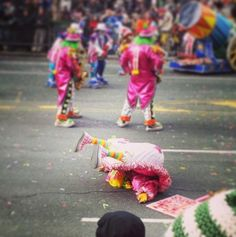 "Happy New Year from Philadelphia's ""Drunk Racist Clown Parade"" Click here to know more!: https://www.oximity.com/article/Happy-New-Year-from-Philadelphia-s-Dru-1"