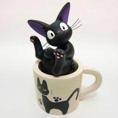 Jiji cup single flower vase /Ghibli official