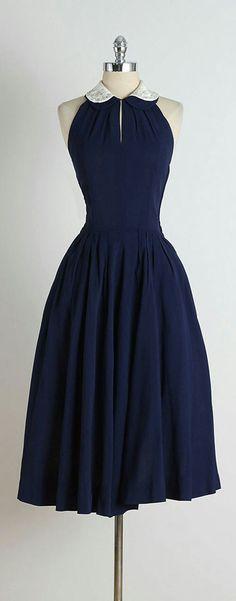 50s style swing dress