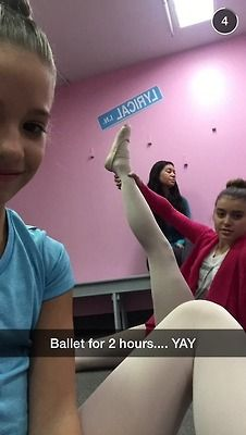 Mackenzie Ziegler and Kalani Hilliker at Ballet at the ALDC