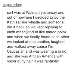 That Walmart experience