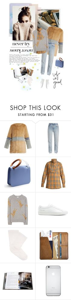 """""""Life is Good"""" by anny-bcc ❤ liked on Polyvore featuring Shrimps, Vetements, Roksanda, Burberry, Dries Van Noten, Common Projects, Darner, Chanel, CO and Assouline Publishing"""