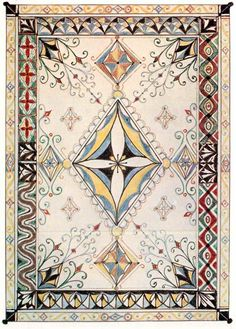 By J.R.R. Tolkien, this Númenórean textile would have been among such precious artifacts to be saved from the Downfall of Númenor in the ships of Elendil and his sons Isildur and Anárion and brought to Middle-earth, as is told in the Akallabêth (The Silmarillion).