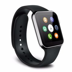 """TLoowy A9 Smart Watch with Heart Rate Monitor and Bluetooth for Android 4.2 and IOS, Bluetooth Women Wireless Digital Wrist Wearable Smart Watch Android Phone Watches. Size (LWH): 1.89 inches, 1.57 inches, 0.46 inches. Beautiful 1.54"""" LCD 2.5D RADIAN Capacitive Touch Screen with high resolution. Receive notifications on your wrist, including caller ID, texts and emails. Make or answer calls. Minimum Rated Standby Time: 80 hours, Minimum Rated Talk Time: 90 minutes. Anti-lost, Remote…"""