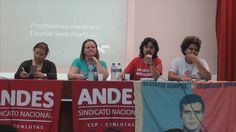 """Abertura da Palestra Escola Democrática X """"Escola Sem Partido"""""""