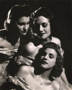 """""""The wonderful thing was that we were together for so many years. We dressed together, we slept together, we roomed together, we went shopping together, and of course we rehearsed together. We never separated."""" -- Maxene Andrews of the Andrews Sisters"""