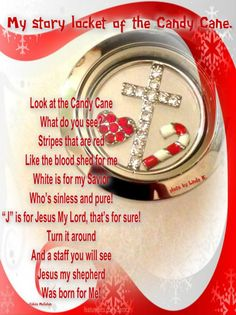 Origami Owl | Candy Cane