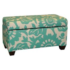 Skyline Gerber Upholstered Storage Bench Surf - 8602GRBRSURF