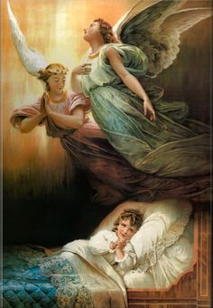 Angel of God, my guardian dear. To whom God's love entrusts me here Ever this day be at my side, to light to guide to rule and guard. Amen