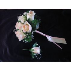 Tulle, Marie, Roses, St Thomas, Ivoire, Bouquets, Jewelry, Artificial Flowers, Tape