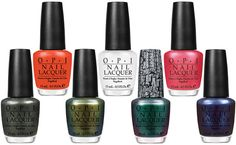 OPI Spiderman Collection