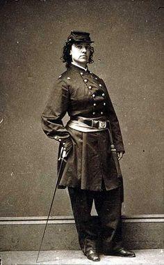 Union spy Pauline Cushman photographed by Mathew Brady. #civilwar