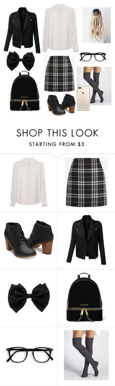 """""""Look🤓"""" by karla-renne on Polyvore featuring moda, Frame Denim, J.Crew, LE3NO, MICHAEL Michael Kors y UGG"""