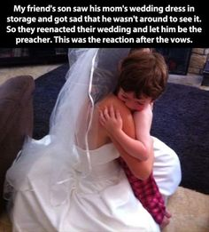 This kid's dream coming true: | 33 Pictures That Will Make You Proud To Be A Human Being Again