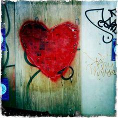 Valentine Grafitti - Jane Davenport-Hearts are one of my favorite symbols