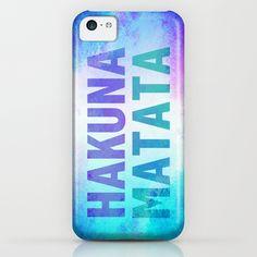 Hakuna Matata III iPhone & iPod Case