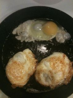 Fried Eggs...preferably cooked in fresh bacon drippings