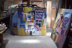 Oils on canvas 150cm x 150cm