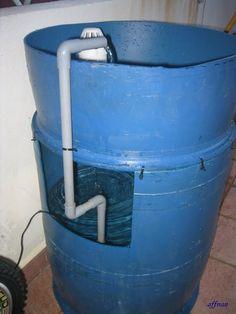 Affnan's Aquaponics: Single Barrel Aquaponics - Part 1 of 5