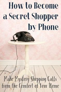 Great opportunity to make money mystery shopping by phone Check out all the…