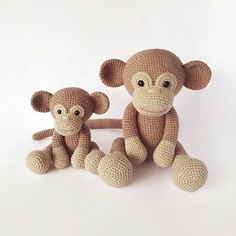 Crochet animals patterns by MyAmigurumiFarm on Etsy
