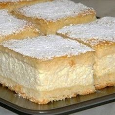 Easy Cake : The Worlds Best Cheese Cream Cake - Easy Recipes, Hungarian Desserts, Hungarian Cake, Romanian Desserts, Romanian Food, Hungarian Recipes, Hungarian Food, Easy Cake Recipes, Sweet Recipes, Dessert Recipes