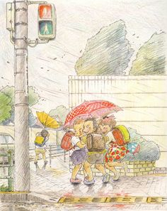 """ When I Turn Around is a posthumously published collection of sketches by Ghibli artist Yoshifumi Kondo. In Kondo started sketching moments he witnessed during his everyday life. Art Manga, Art Anime, Yoshifumi Kondo, Art Studio Ghibli, Bg Design, Art Mignon, Ghibli Movies, Art Et Illustration, Sketchbook Inspiration"