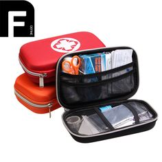 buy 18 pcs survival emergency bag for travel automobile portable travel accessories first aid kit #survival #supplies