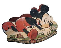 Mickey Mouse! Antique Rocker/Toy