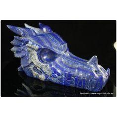 Lapis lazuli dragon skull 25 cm
