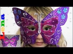 Schmetterling Maske basteln 🦋 How to make a butterfly mask for kids ✂ ка. - Informations About Schmetterling Maske basteln 🦋 How to make a butterfly mask for k Carnival Tent, Diy Carnival Games, Carnival Booths, Carnival Dress, Carnival Decorations, Carnival Outfits, Carnival Rides, Carnival Masks, Carnival Costumes