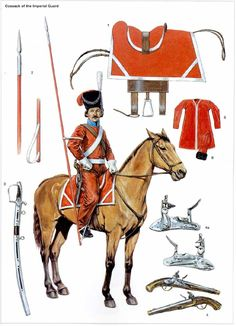 Cosack of the imperial guard.