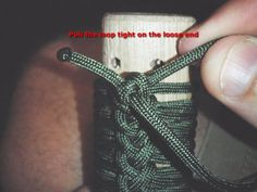 GREAT tutorial for paracord wrapping!