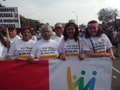 """VIDEO-FOTO:LOS ADULTOS MAYORES EN MANIFESTACIÓN """"NI UNA MENOS""""   Central Informativa del Adulto Mayor"""