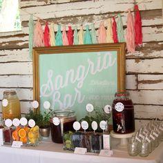 Sangria bar/ mimosa bar